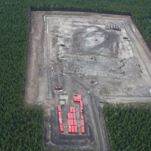 Gas Exploration Invert Mud Solidification