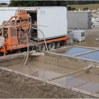 metaflo liquid solidification site