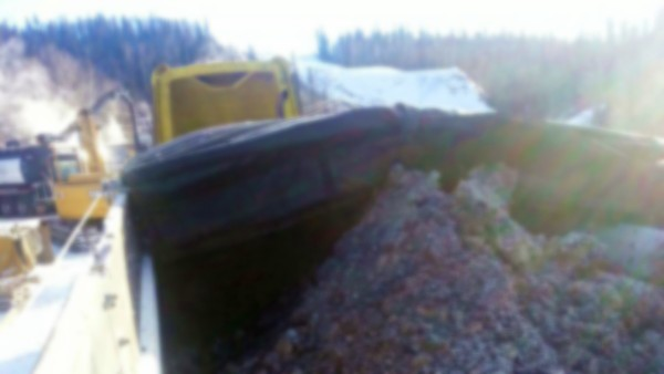 Drill Mud Sump in Fort McMurray, Alberta