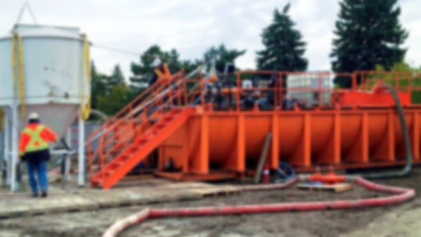 Drill Waste Management for Gas Distribution Upgrade