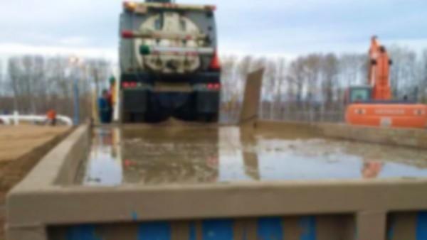 Hydro Excavation Mud – Pipeline Integrity Test