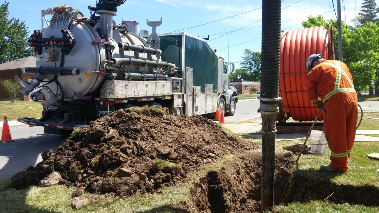 hydro excavation metaflo