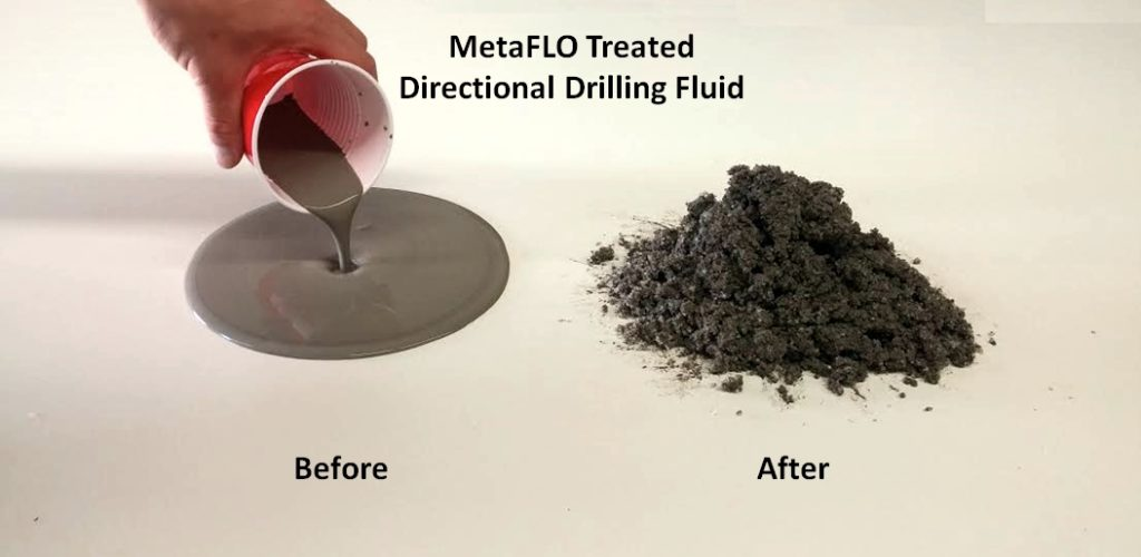 Before and after - Metaflo