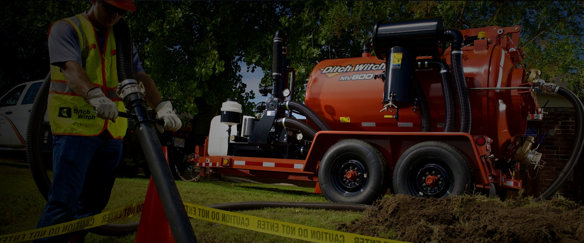 ditch witch banner