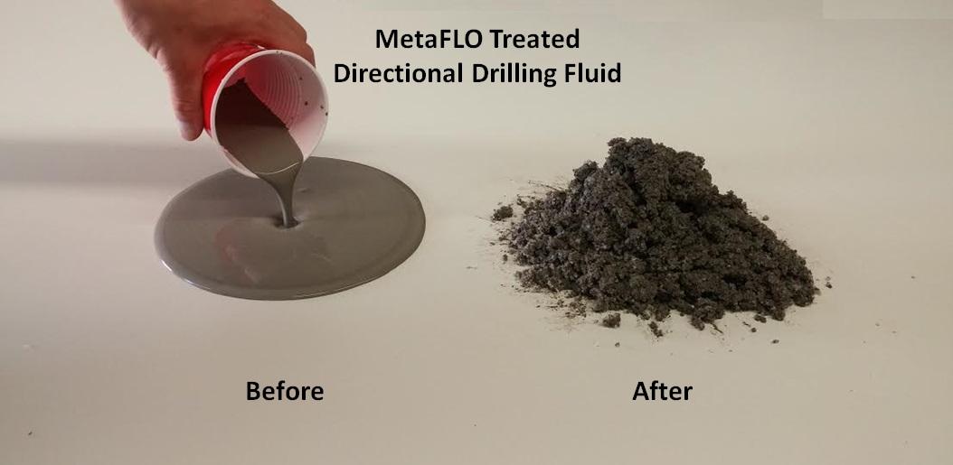 MetaFLO Directional Drilling Fluid
