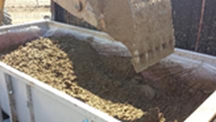 digging utilities dirt removal